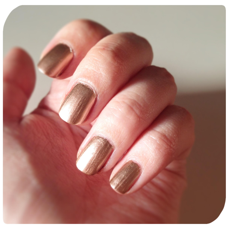 Essie Gold Nail Polish: Essie Penny Talk Rose Gold Nail Polish