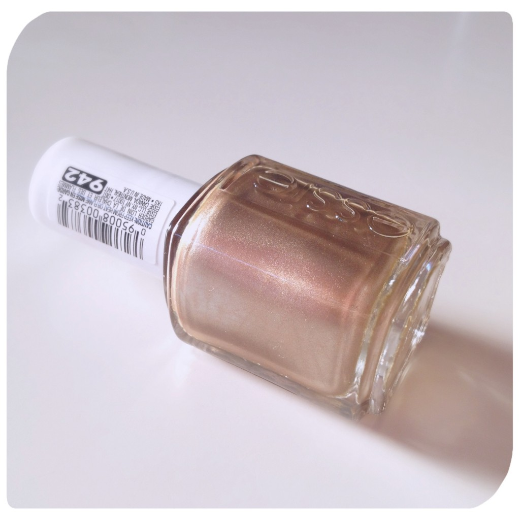 Essie Metallic Gold Nail Polish: Essie Penny Talk Rose Gold Nail Polish